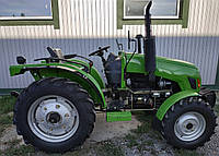Трактор DW 404D (40 л.с., 4 цилиндра, 4х4, ГУР, доп. грузы, колеса 7.50-16/11.2-24), фото 1