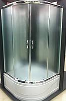 Душова кабіна SANTEH 1021-F FABRIC 100х100х195 глибокий піддон