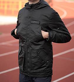 Куртка мужская Graf, материал-синтепон,цвет-темно- серые. Код товар DS-9049