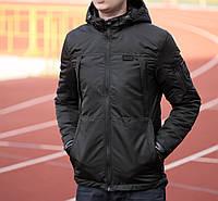 Куртка мужская Graf, материал-синтепон,цвет-черный. Код товар DS-9051