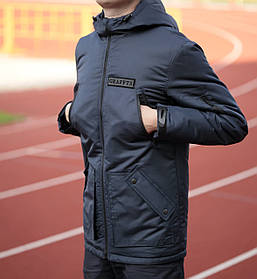 Куртка мужская Graf, материал-синтепон,цвет-темно- синие. Код товар DS-9048