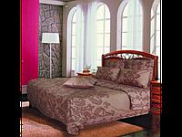 Коричневый комплект постельного белья