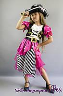 Пиратка / разбойница, детский карнавальный костюм (код 42/1 )
