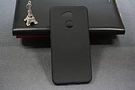 Чехол бампер силиконовый Huawei Honor 6C Pro (JMM-L22) Хуавей (Rock) цвет черный Soft-touch