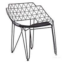 Металлический стул Kiwi, черный