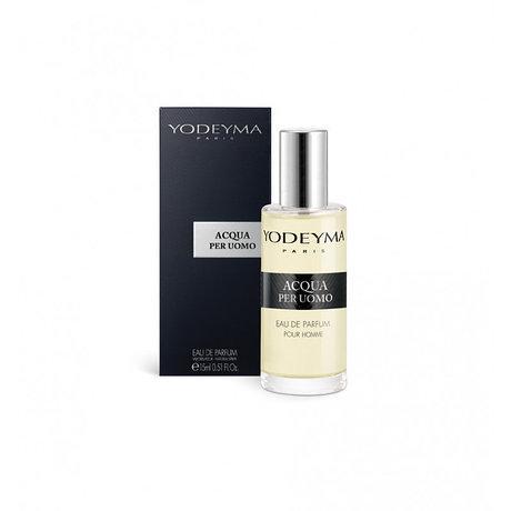 Чоловічі міні-парфуми Acqua Per Uomo Yodeyma 15 мл (Бергамот Цикламен Деревина) духи Йодейма