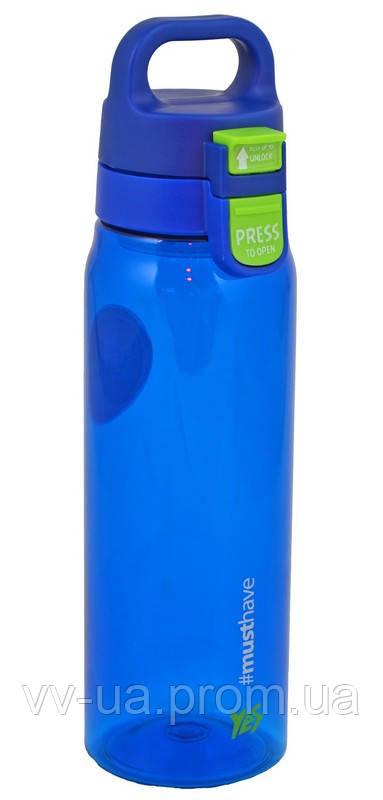 Бутылка для воды Yes Deep Blue, 830 мл