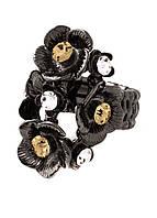 30174 Кольцо из меди, покрытой оружейной сталью