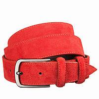 Ремень замшевый MAYBIK 15264 Красный, Красный