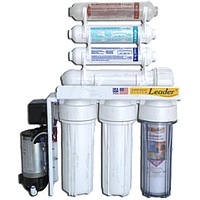 LEADER RO-6 pump bio система обратного осмоса для очистки проточной воды с биокерамикой и помпой