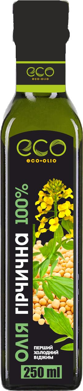 Масло живое из семян Горчицы 250 мл