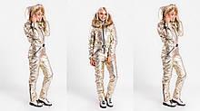 Зимний комбинезон , норма - супер качество цвет: GOLD