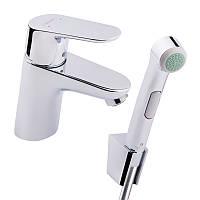 Смеситель для умывальника с гигиеническим душем Hansgrohe Focus E2 31926000