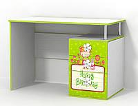 Стіл в дитячу кімнату з ДСП/МДФ письмовий Яблучко Matroluxe