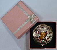 """Зеркальце в подарочной упаковке """"Испания"""" №7006-8-11"""