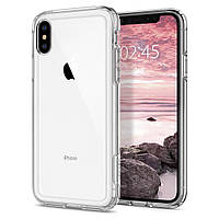 Чехол Spigen для iPhone XS/X Neo Crystal Hybrid, Crystal Clear (063CS25140), фото 1