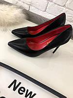 Туфли лодочки черные  код 5984, фото 1