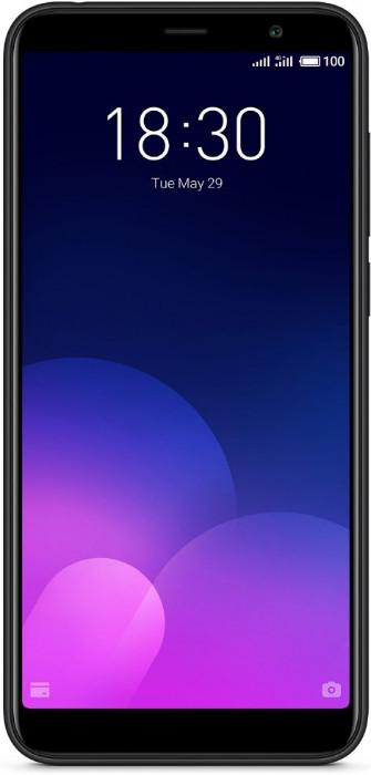 Смартфон Meizu m6t Black 32gb 5.7