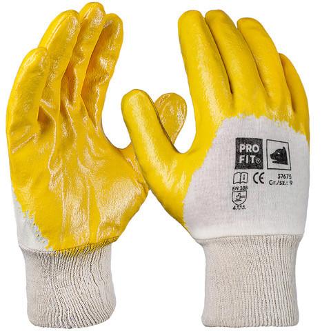 Защитные перчатки Pro-Fit 37675 с 3/4 нитриловым покрытием Wurth