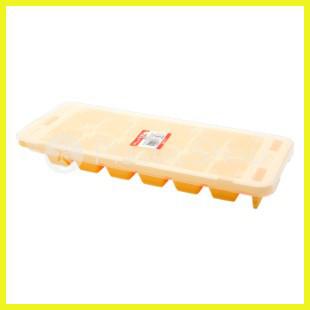 Форма для льда Premium 12 ячеек оранжевый