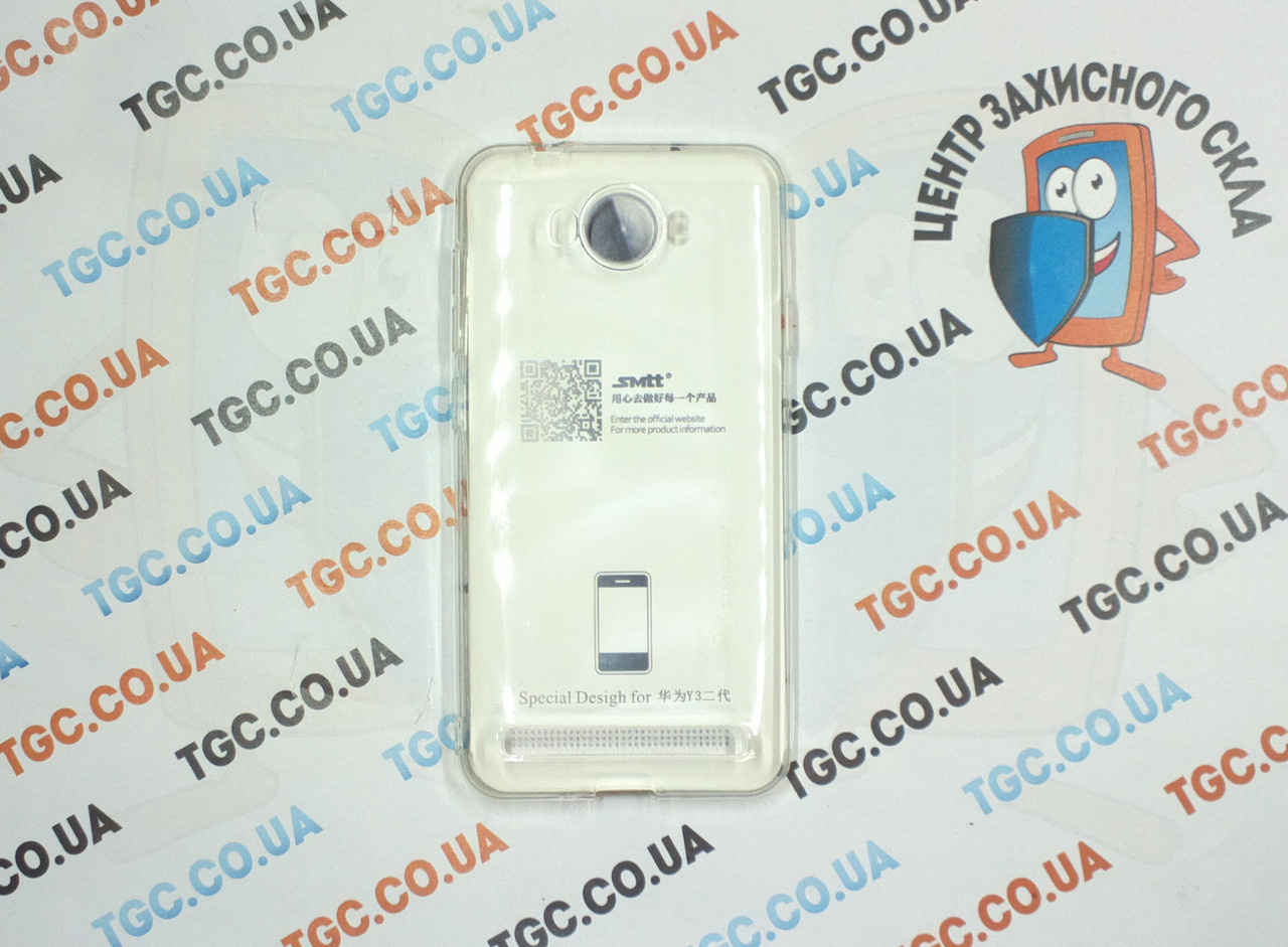 Чехол SMTT для Huawei Y3 II - прозорий