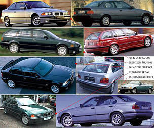 Указатели поворота для BMW 3 E36 '90-99
