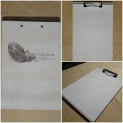 Папки-планшети з дерева