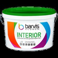 Водно-дисперсійна фарба для внутрішніх BARVIS Interior Econom 2,5 л