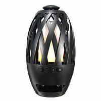 Беспроводная Bluetooth колонка Flame-Atmosphere Speaker ночник BTS-596 SUNROZ, фото 1