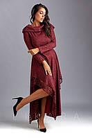 Платье большого размера Likara / ангора софт / Украина 32-487, фото 1
