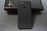 Чехол бампер силиконовый Huawei Honor 7X (BND-L21) Хуавей хонор 7х (Rock) цвет черный Soft-touch