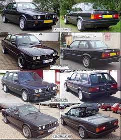 Фары передние для BMW 3 E30 '82-91