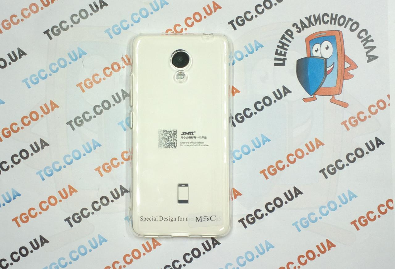 Чехол SMTT для Meizu M5c - прозорий
