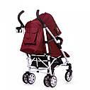 Детская коляска-трость CARRELLO Allegro CRL-10101/1 Kitty Red в льне, фото 3