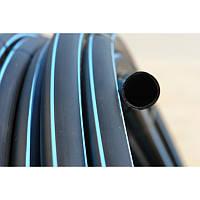 Труба для водоснабжения 4.9 мм PN10 * 75 (ПНД) полиэтилен низкого давления