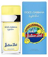 Dolce & Gabbana Light Blue Italian Zest туалетная вода 100 ml. (Дольче Габбана Лайт Блю Италия Зест)