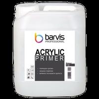 Глубокопроникающая грунтовка BARVIS Primer Acrylic 10 л