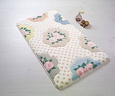 Коврик для ванной Confetti Bundle Pink (Pembe) 55x57см