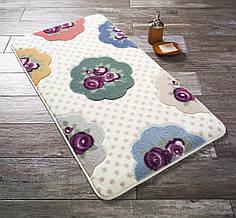 Коврик для ванной Confetti Bundle Purple (Mor)  55х57см