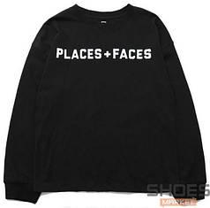 Свитшот Places + Faces Black (ориг.бирка)