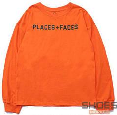 Свитшот Places + Faces Orange (ориг.бирка)
