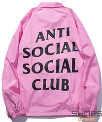 Куртка Anti Social Social Club Pink (ориг.бирка)