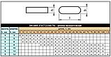 DIN 6885 (ГОСТ 23360-78) : нержавеющая шпонка призматическая высокая, фото 10