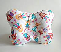 """Детская ортопедическая подушка для лечения и профилактики кривошеи у младенцев """"Куколка"""""""