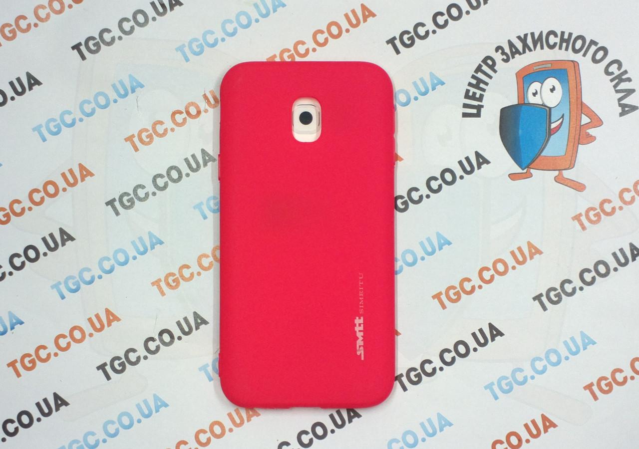 Чехол SMTT для Samsung Galaxy J330 J3 2017 - червоний