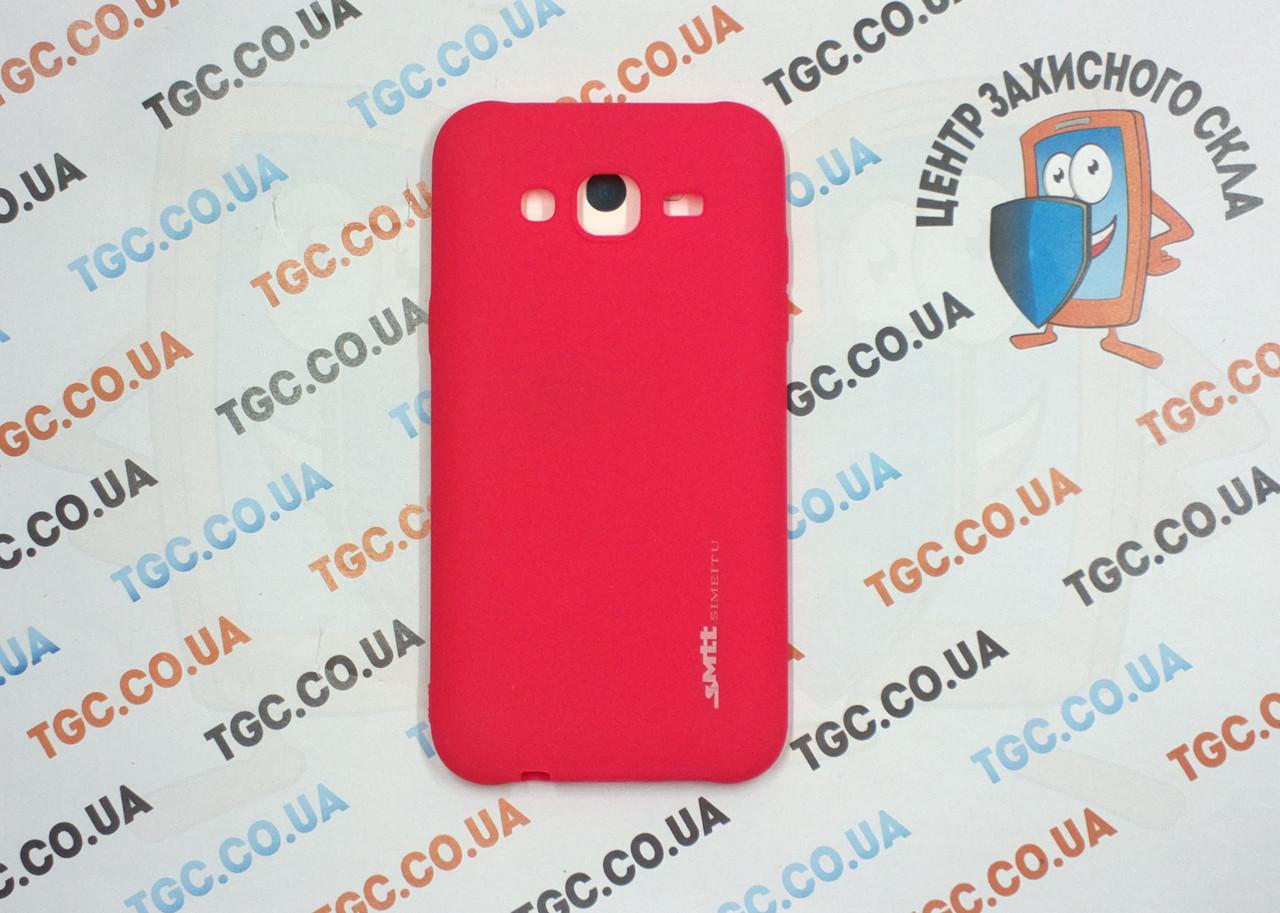 Чехол SMTT для Samsung Galaxy J500 J5 2015 - червоний