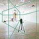 Лазерный нивелир с зеленым лучем 3х360 градусов, фото 5