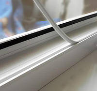 Фирменная заглушка паза штапика Rehau для окон ПВХ, фото 1