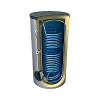 Комбинированный водонагреватель верт. 100 л. т.о. 0,7 кв.м мокр. ТЭН 3,0 кВт TESY Bilight GCV9SL 1004430 B11 TSRP