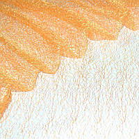 Гипюр-паутинка оранжево-золотистая ш.150